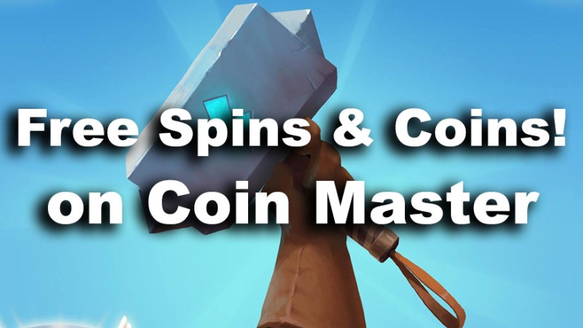 free spins and coins coin master