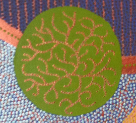 Detail dotpainting