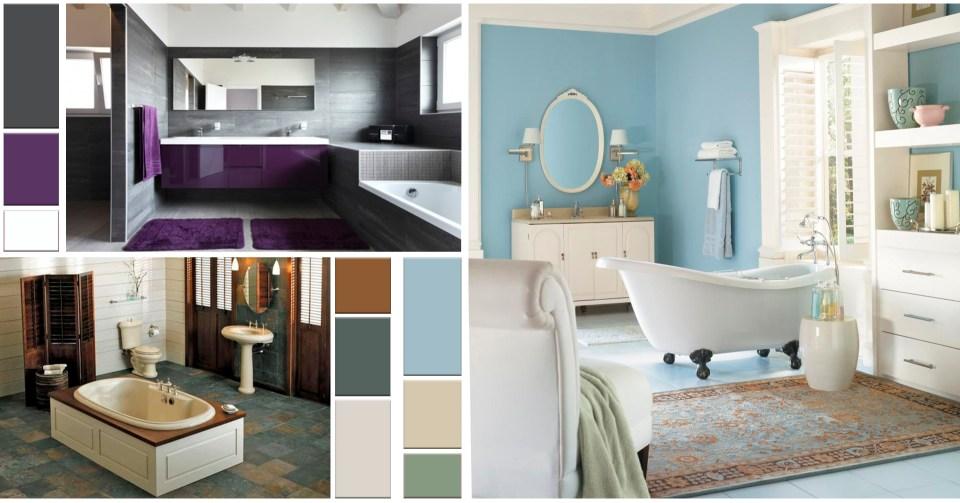 Regla 60-30-10: Combinaciones de color en baños