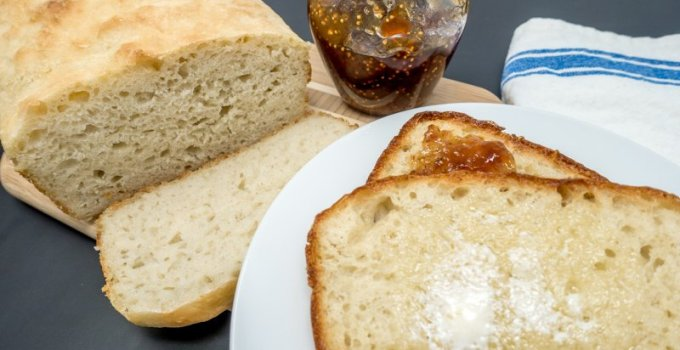 This no knead bread recipe is the perfect introduction to making bread at home