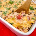 This Mexican style quinoa casserole on a must-try dinner