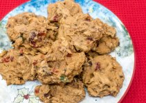 Try this easy fruitcake cookies recipe as an alternative to traditional Christmas fruitcake
