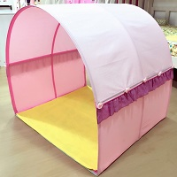 Children Bed Canopy   Pink