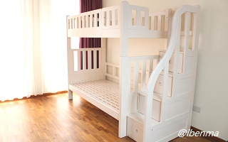 M204A Bunk Bed | Convertible bunk bed