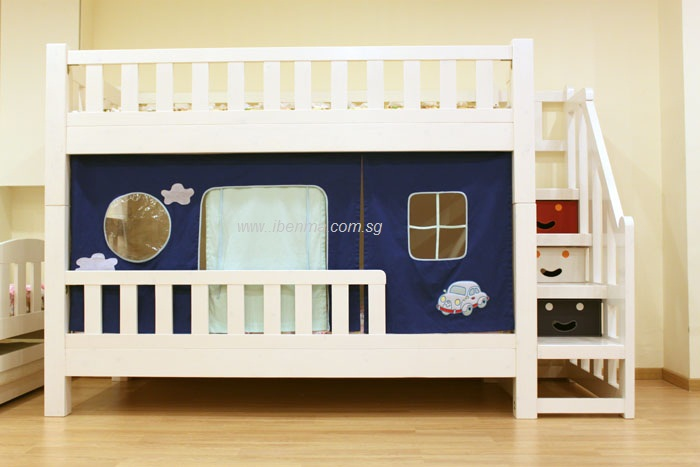 children convertible bunk bed