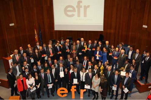 X Entrega de los certificados Empresa Familiarmente Responsable (Foto: Ministerio de Sanidad)