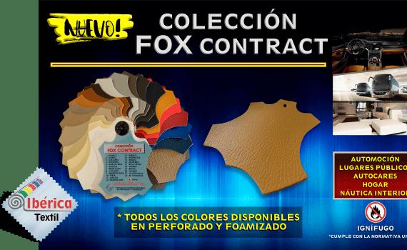 NUEVA COLECCIÓN DE PVC IGNÍFUGO FOX CONTRACT