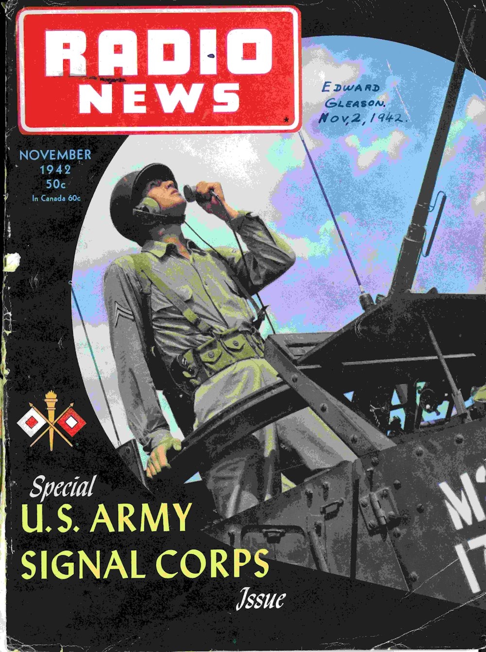 1942 Special Signal Corps Issue of Radio News
