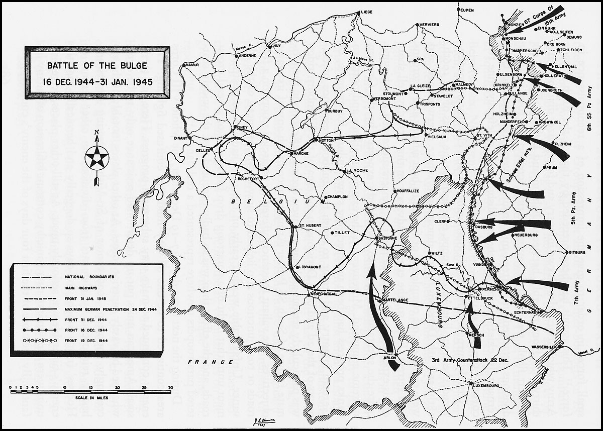 Image result for battle of the bulge third army advance