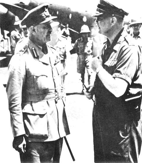 General Wavell arrived in Batavia with General Ter Poorten 4e9a4f4882cd