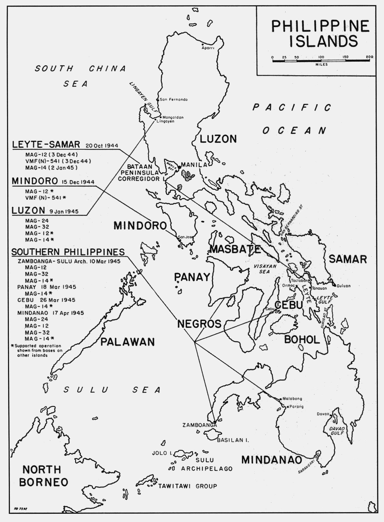 Philippine Islands Map1 Html
