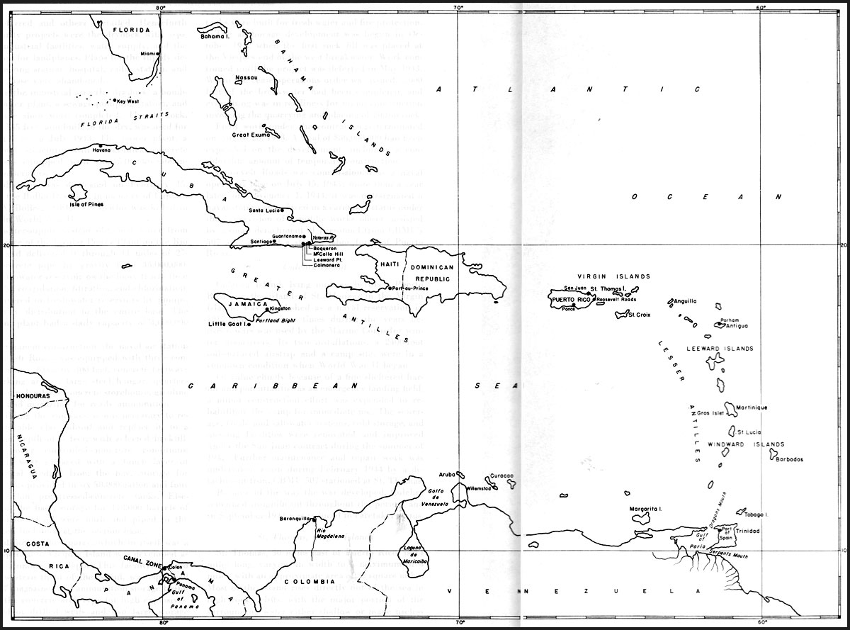 Outline Map Of Caribbean Countries Pictures To Pin On