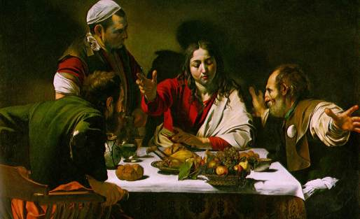 """""""The Supper at Emmaus"""" by Carravaggio"""