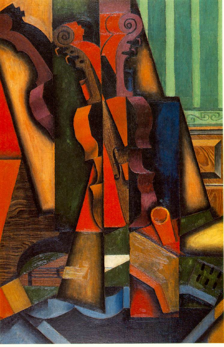 Violin and Guitar, 1913