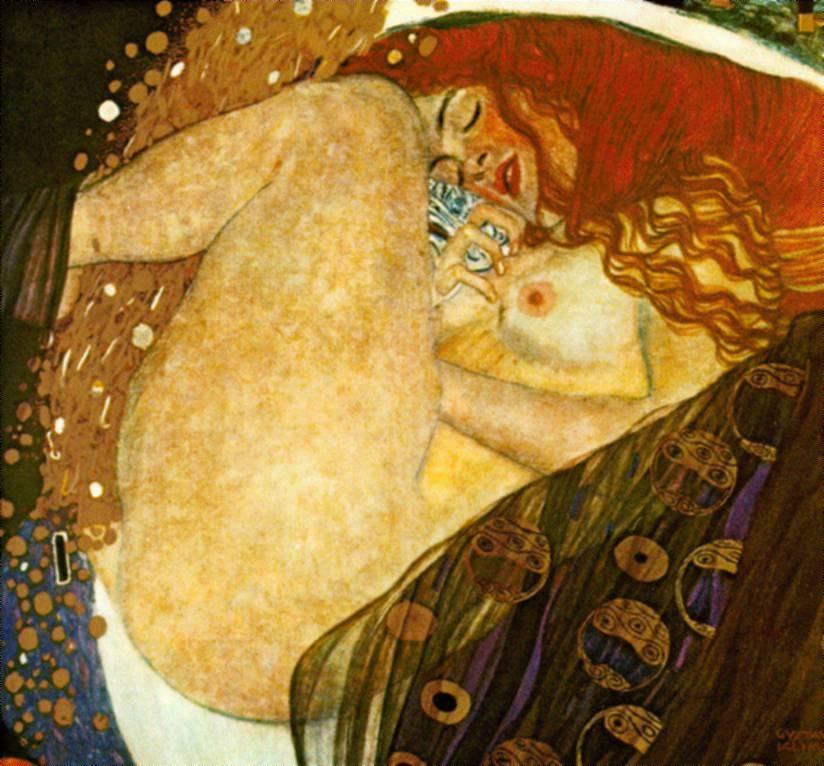 Klimt- Danae