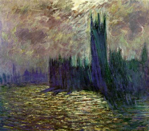 Claude Monet, Houses of Parliament in London