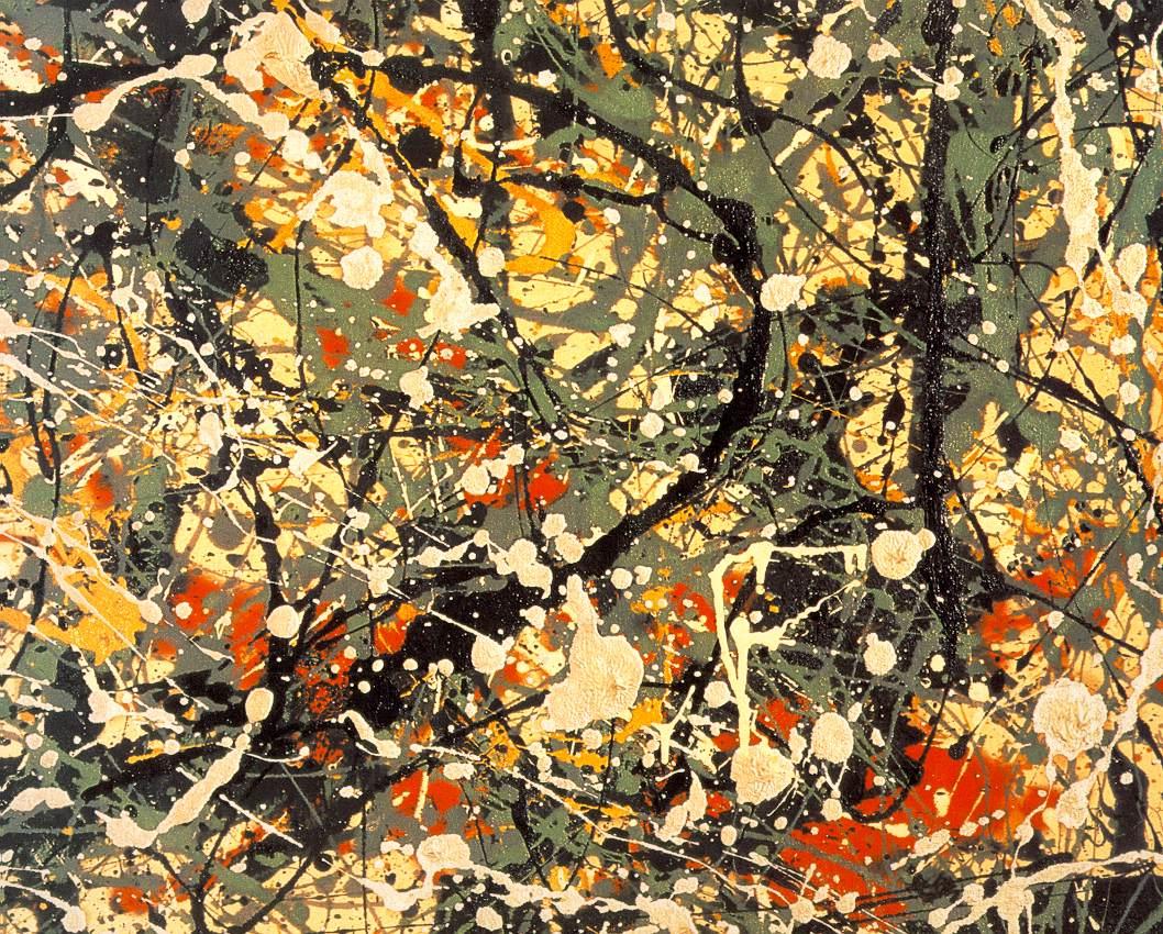 Jackson Pollock, Number 8, 1949.