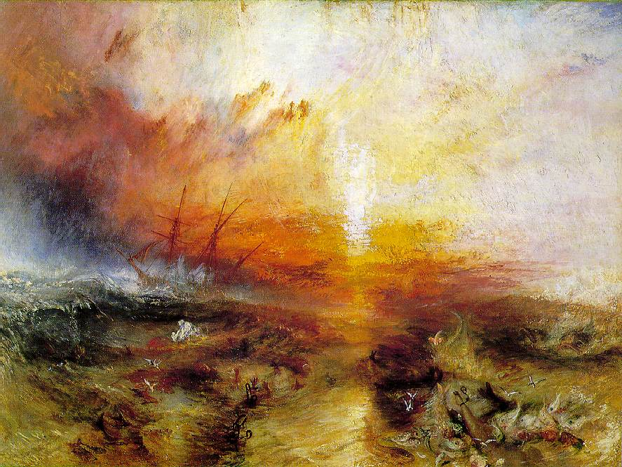 William Turner, Slavers throwing overboard the dead and dying