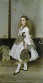 Harmony in Grey and Green: Miss Cicely Alexander, by James Abbott McNeill Whistler, public domain, taken from (http://www.ibiblio.org)