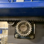 Schelling FM-H 430 Rear/Side Loading Automatic Panel Saw Rack & Pinion