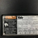 Yale Forklift Name Plate