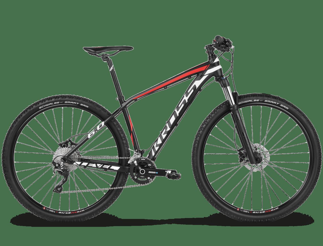 Bicicleta Kross Level 6 0 29 Negro Rojo Matte