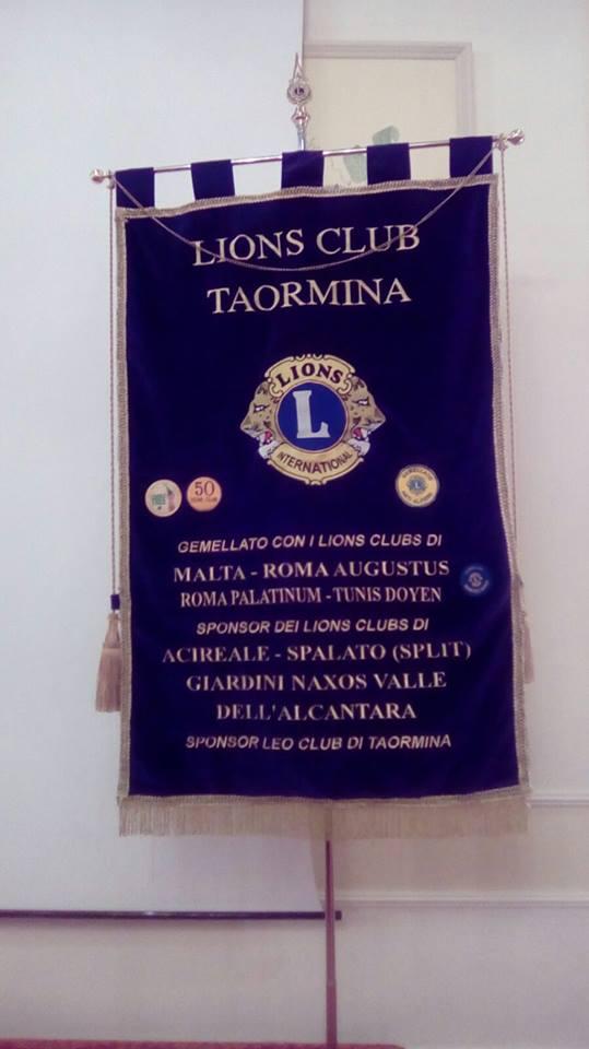 IL CONTRIBUTO DEI LIONS CLUB DI TAORMINA