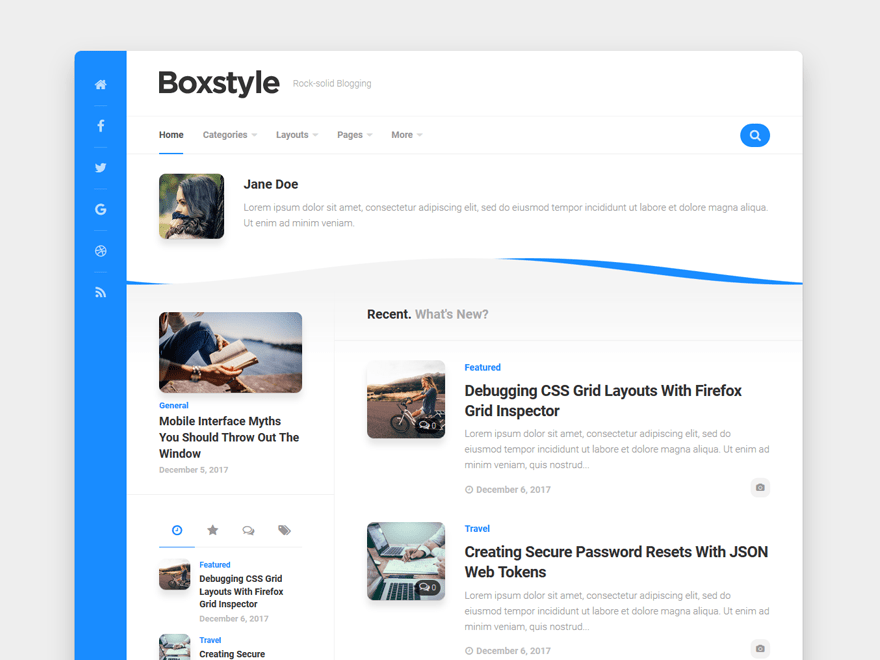 Boxstyle WordPress Theme 1