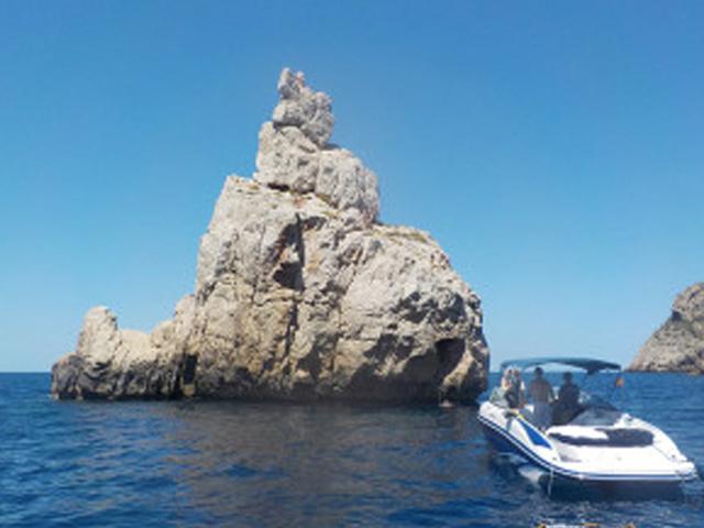 Ibiza boat hire bowrider tandem