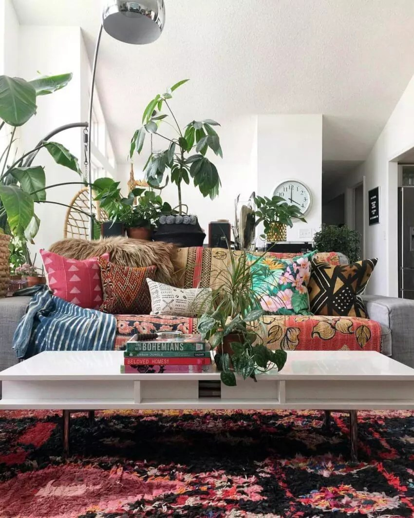 Your inspiration for a modern bohemian home by DK Renewal on Boho Modern Decor  id=54299