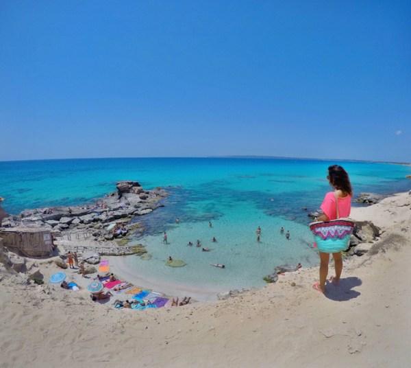 Es Caló des Mort Formentera