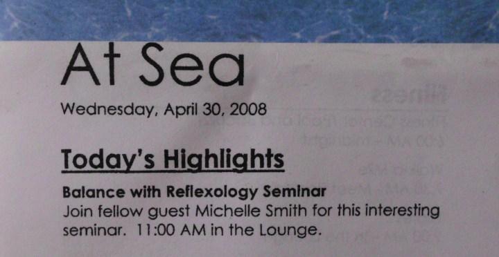 Windstar Seminar - April 30, 2008