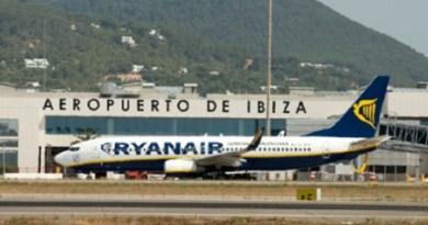 Grote drukte op Ibiza Airport deze week