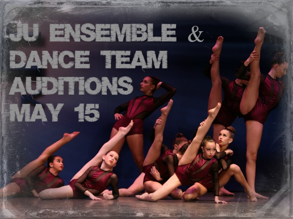 ENSEMBLE & DANCE TEAM AUDITIONS!