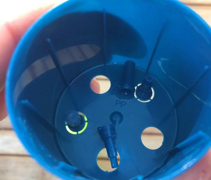 Adapters i locket tändargas refill