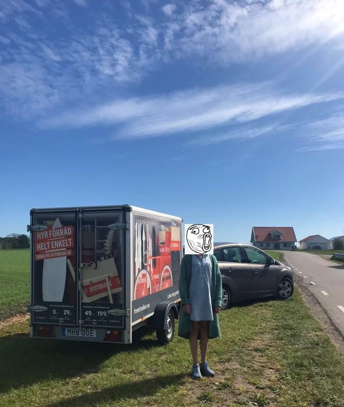 Släpvagn på turne