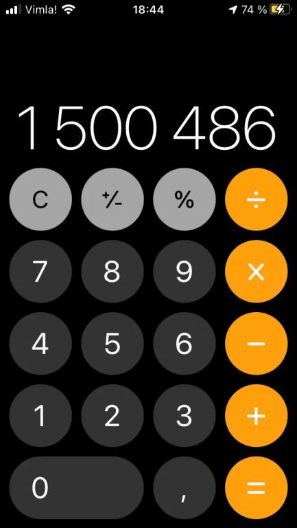 1 500 000 kronor