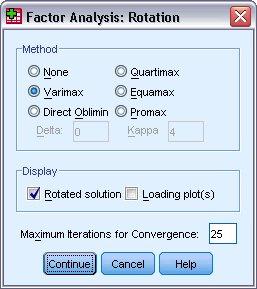 مربع حوار التناوب أو الاستدارة Rotation