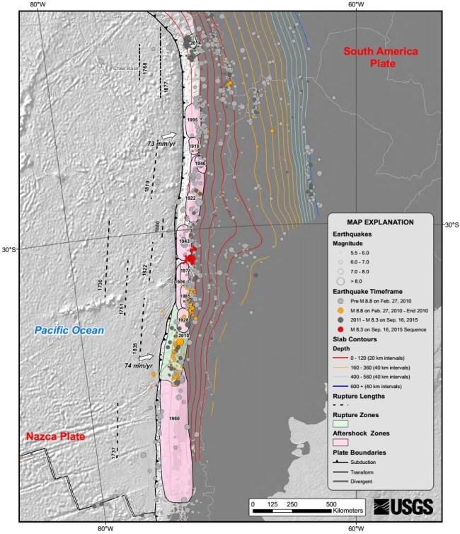 sejarah gempa chili