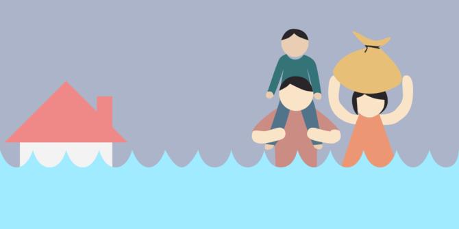 pengungsi banjir