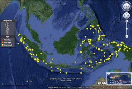 data gempa Indonesia