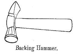 Backing-Hammer-bookbinding