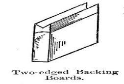 Two-edge-backing-bookbinding