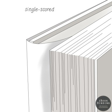 Figure 117 - Single Scored Dust Jacket