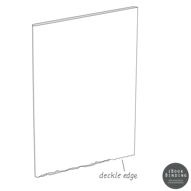 Figure 136 - Deckle Edge