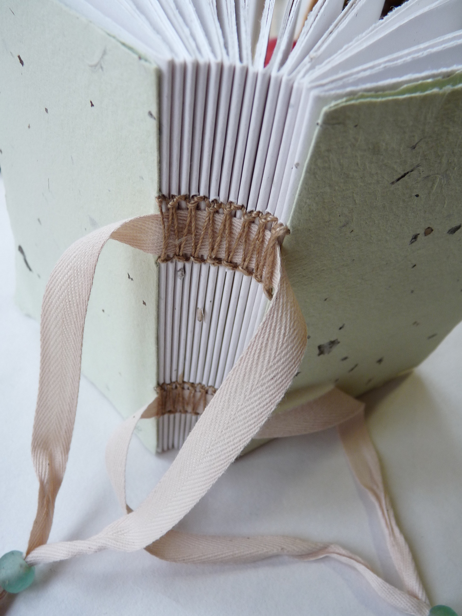 Exposed Tape Binding - Bookbinding