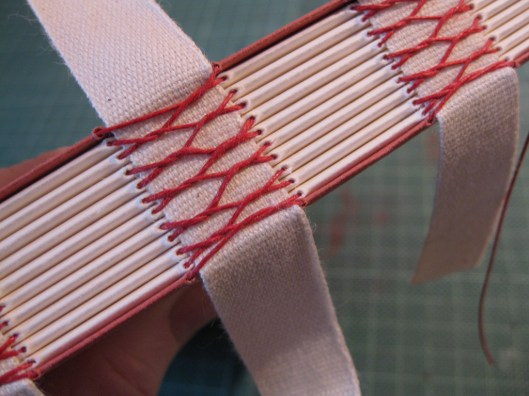 French Stitching on Tapes by A Yen for Paper
