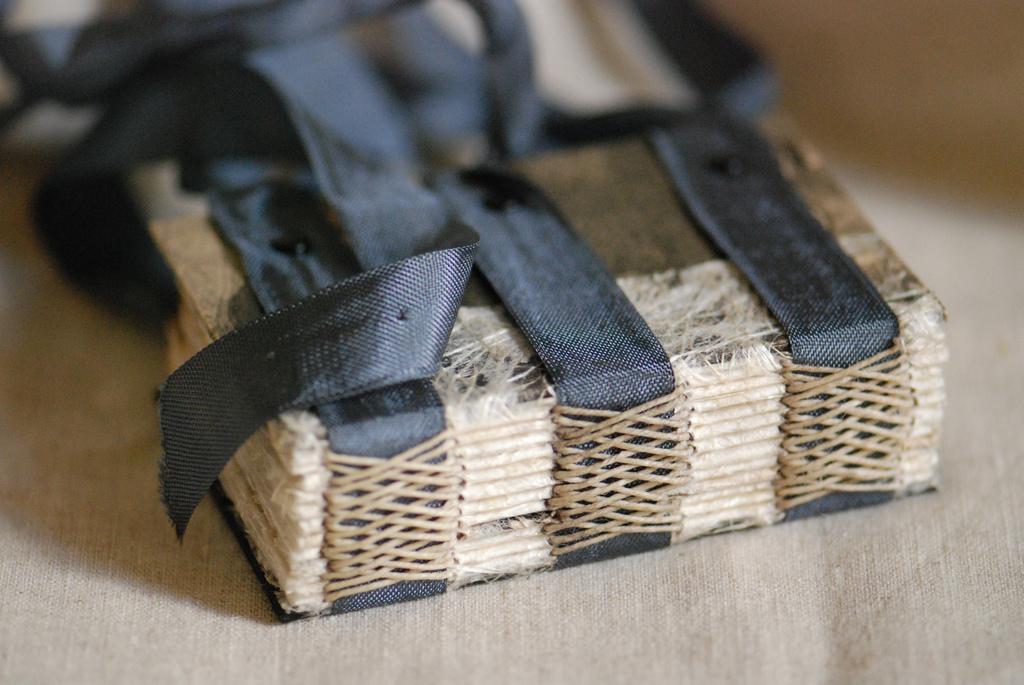 Raw Tape Binding Small Book