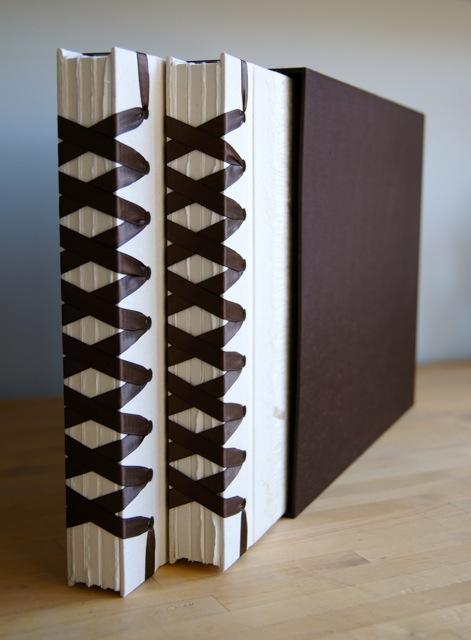 two-ribbon-bound-albums-slipcase