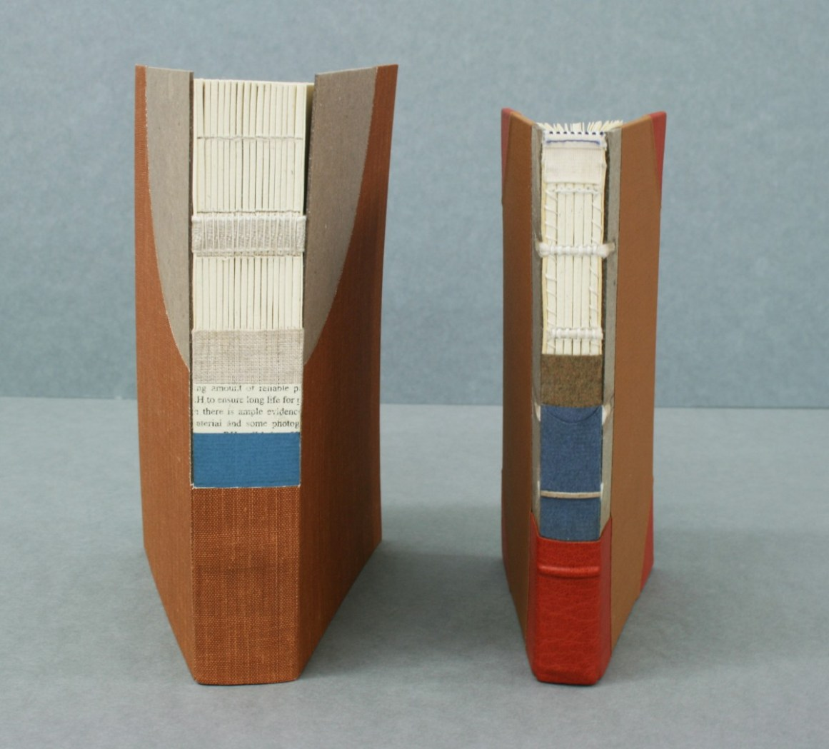 Cut-Away Binding Models - by Roger Williams